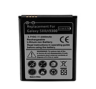 2300mAh Cell Phone Battery for Samsung Galaxy SIII/i9300