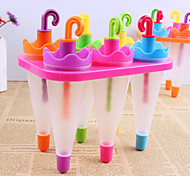 Candy Color DIY Popsicle Umbrella Mold(6 PCS A Set)