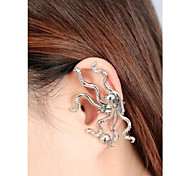 Octopus Fashion Color More Realistic Ear Clip