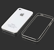 0.3mm Ultra Thin Style Soft Flexible TPU Cover for iPhone 4/4S (Assorted Colors)