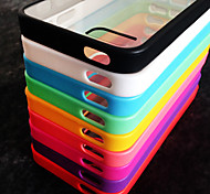 BIG D Clear  Acrylic Back Case for iPhone 5/5S(Assorted Color)