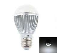 Zweihnder E27 5W 450LM 5500-6000K 10x5730 SMD White Light Bulb Light (AC 110-240V,1Pcs)