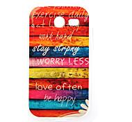 Rainbow Painting TPU Case for Samsung Galaxy Pocket 2 G110
