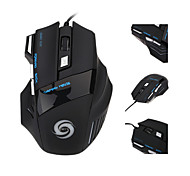 Adjustable 3200 DPI 7 Buttons 7D LED Optical USB Wired Gaming Mouse Mice for Laptop PC Professional Gamer