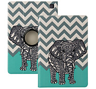 "Elonbo® Cute Elephant  360° Rotating PU Leather Full Body Protector Case Cover For Amazon Kindle Fire HDX 7""2013 Gen."
