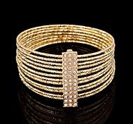 YUAN Fashion Casual High Quality Rhinestone Bracelet