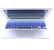 2015 Newest High Quality Silicone Keyboard Cover for Macbook Air 11.6 inch
