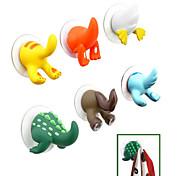 Cartoon Animal Tail Design Plastic Hook(Random Color)