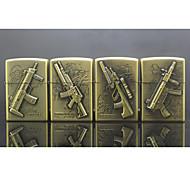Rifle Series Kerosene Lighter Relief Style (Pattern Randomly Shipped)