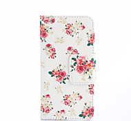 White Flower Painting Phone Case for iPhone 5/5S