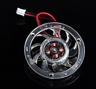 5cm gráficos silenciosos ventilador de la tarjeta / isósceles pequeño ventilador 12v 0.1a