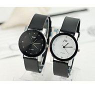 Men's Quartz Analog Water Resistant The Trend Of Fashion Belt Watch Black High Quality Watch(Assorted Colors)