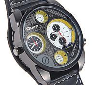 The metal men multifunctional business quartz watch waterproof seismic motion OULM0600