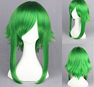 55 centimetri vocaloid-gumi parrucca del anime cosplay verde