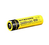 18650 2600mAh 3.7V Li-ion rechargeable batteries de Nitecore