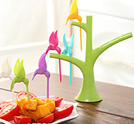 Bird Design Toothpick Set