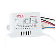 W192  AC 220-240V 200W/280W/800W 3-Channel Remote Control Switch for LED Lamp