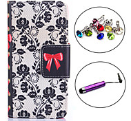 The Gift of Love Pattern PU Leather Case with Stylus and Dust Plug for Sony Xperia Z3