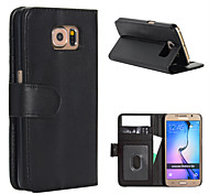 Magic Spider® Flip Open PU Leather Wallet Case Cover Stand with Screen Protector for Samsung Galaxy S6