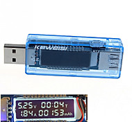 USB Рабочее напряжение измерителя мощности мощность тестера емкость аккумулятора