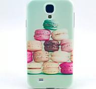 patrón hamburguesa TPU suave para mini i9190 Samsung Galaxy S4