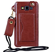 Special Design Colorful PU Leather Luxury Ultra Leather Cover forSamsung Galaxy A7 (Assorted Colors)