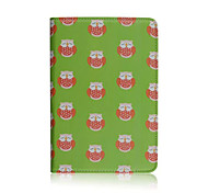 Cartoon Owl 360° Turnable PU Leather Full Body Case with Stand for The new iPad/iPad 4
