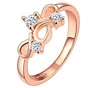 Rose Gold Plating Fashion Ring