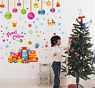 Christmas Gifts PVC Wall Stickers Wall Art Decals