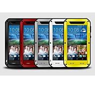 Liebe mei® luxuriöse All Metall Aluminium wasserdicht stoßfest Gorilla Abdeckungsfall für HTC Desire 820 (verschiedene Farben)