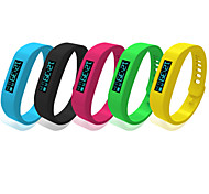 Bluetooth 4.0 Bracelet Waterproof IP58 Multifunction Wristband Pedometer Bluetooth Smart Bracelet with OLED Screen