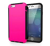 Scratch Shockproof Popular Brands Phone Case for iPhone 6Plus/6S Plus(Assorted Colors)