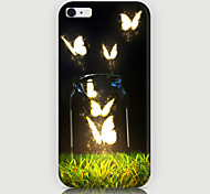 Butterfly Pattern Back Case for iPhone 6
