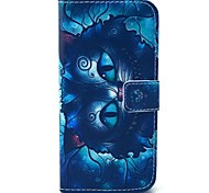 Owl Pattern PU Material With Support Slot With Support Slot Holster for iPhone 6