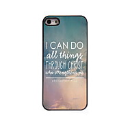 I CAN DO Design Aluminum Hard Case for iPhone 5/5S