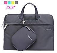 """pu notebook in pelle caso tablet netbook borsa con il sacchetto del mouse per macboook 13.3 """""""
