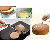 Stainless  Cake Slicer Leveler Pizza Dough Cutter