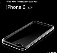 iPhone 6 Transparent ( Schwarz/Weiß/Rosa/Gold , TPU )