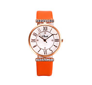 Women's Watch Diamante Bling Bling Leather Watch