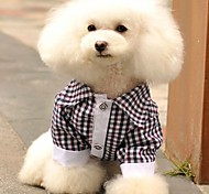 Fashion Plaid Hague T-shirt For Dogs (Assorted  Sizs)