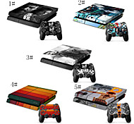 Saviors Vinyl Decal Cover for Sony Playstation 4 ConsoleFree Controller Sticker Decal for PS4