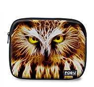"For U Designs 10"" Fire Series/Owl Laptop Sleeve Case for Ipad"