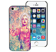schöne Frau Design Aluminium-Hülle für das iPhone 4 / 4s
