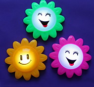 Fashion Flower Style Multicolor Night Light Pat Light(Random Color)