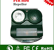 Outdoor Solar Power Ultrasonic Safe Harmless PIR Ultrasonic Bird Repeller