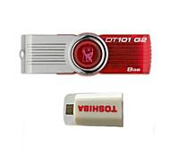 unità flash USB rotante originale kingstondt101 g2 8g (dare kit di collegamento intelligente OTG)