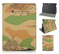 10.1 Inch Camouflage Pattern PU Leather Stand Case for Asus MeMO Pad 10-ME103K