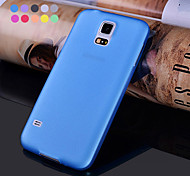 GYM Ultra Thin Translucent Matte Soft Case for Samsung Galaxy S5 I9600(Assorted Colors)