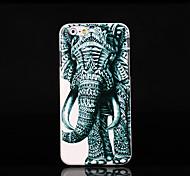 tampa do elefante padrão para iphone 6 mais caso