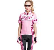 vestuário desportivo forider® definido mulheres mangas curtas equitação flores